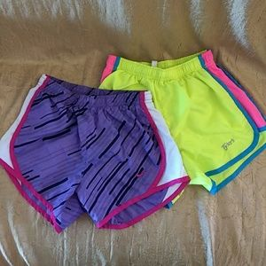 Nike Tempo Short and Tylers Short Y Medium